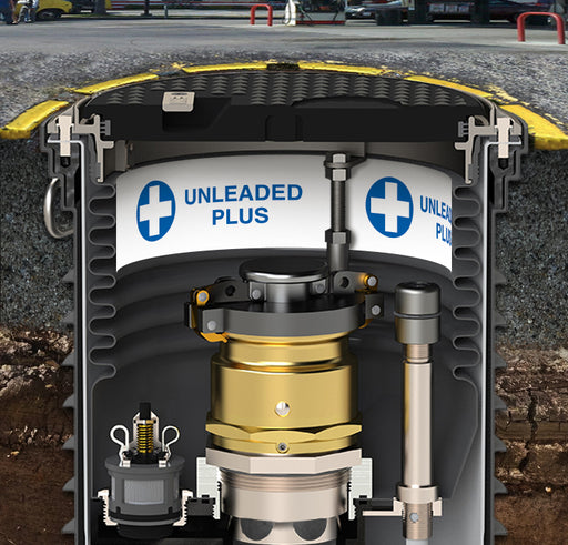 "Storage Tank Collar- ""Unleaded Plus"""
