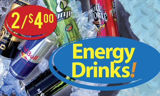 Energy Drinks Price Insert