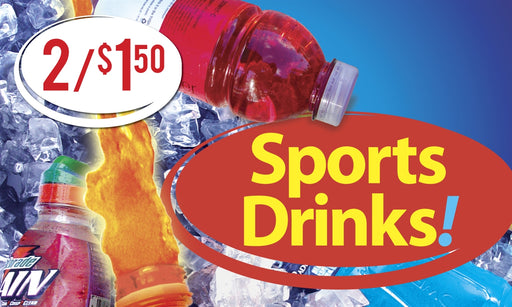 Sports Drinks Price Insert