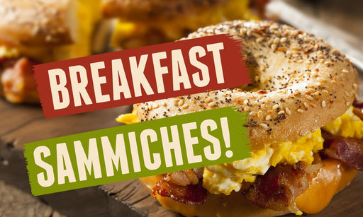 "Pump Topper- ""Breakfast Sammiches"""