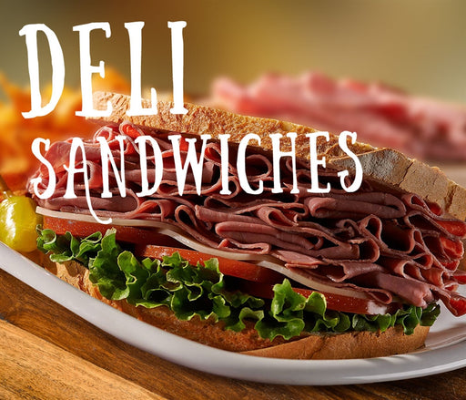 "Pump Topper- ""Deli Sandwiches"""