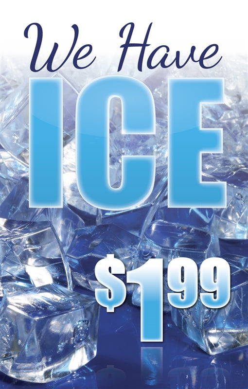 "Price Insert- ""We Have ICE"""