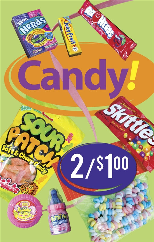 Candy Price Insert
