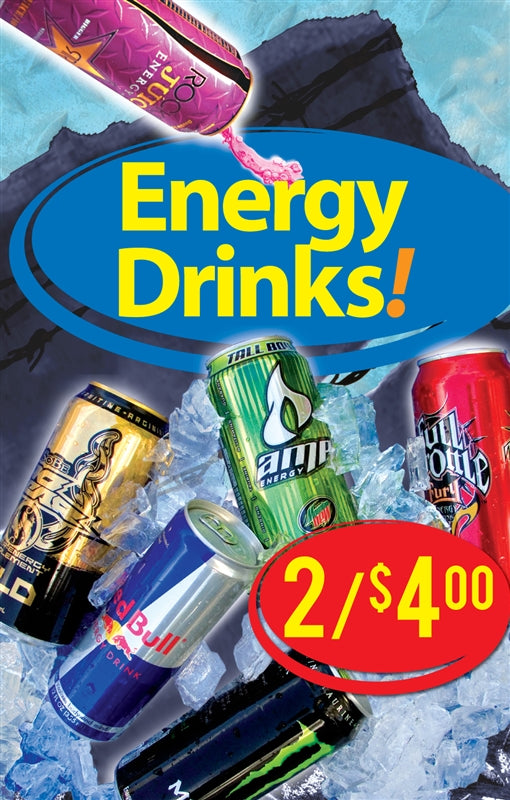 Energy Drinks! Price Insert