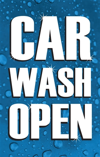 Car Wash Open