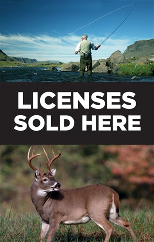 Licenses Sold Here Insert