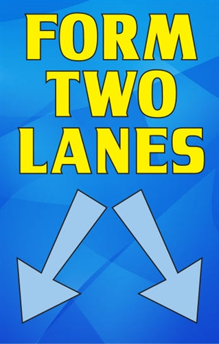 Form Two Lanes