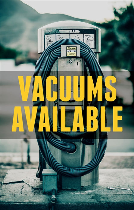 Vacuums Available