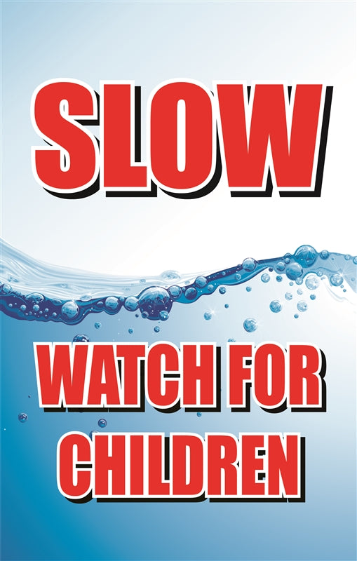 "Insert- ""SLOW for children"""