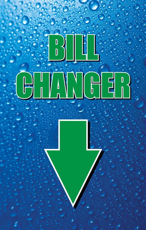 "Insert- ""Bill Changer"" (Down)"