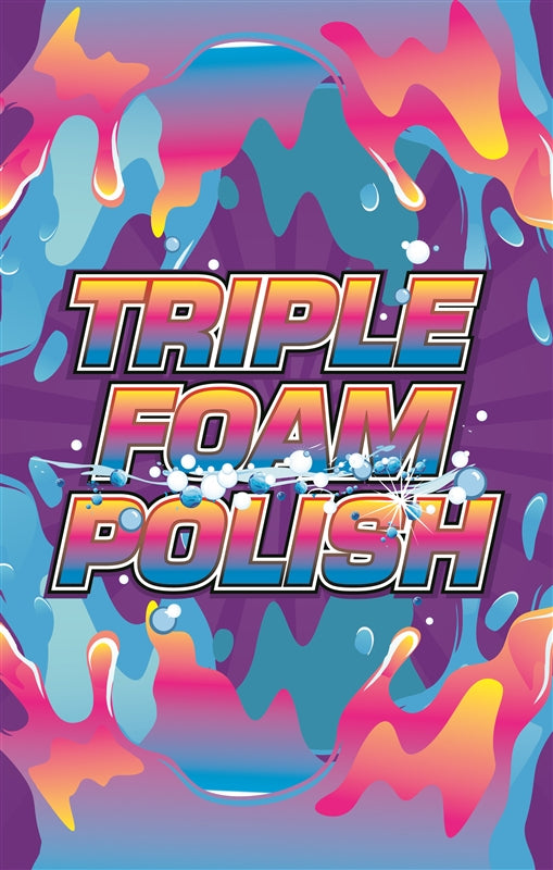 "Insert- ""Triple Foam Polish"""