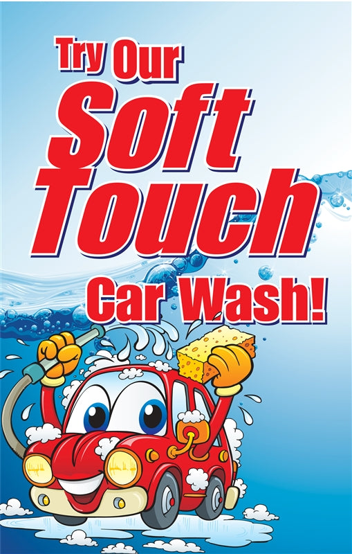 "Insert- ""Try Our Soft Touch Car Wash"""