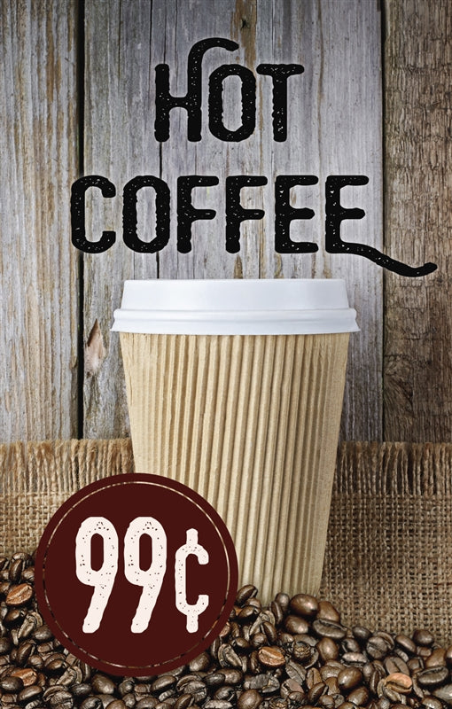 "Price Insert- ""Hot Coffee"""