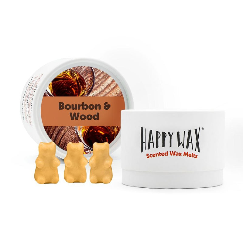 Bourbon + Wood Wax Melts