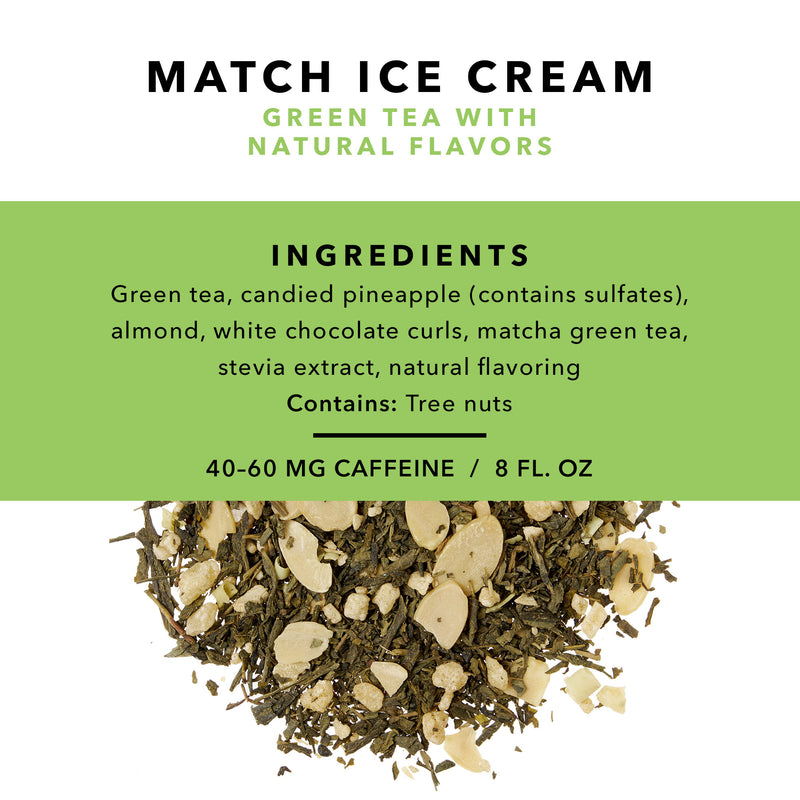 Matcha Ice Cream Loose Leaf Tea
