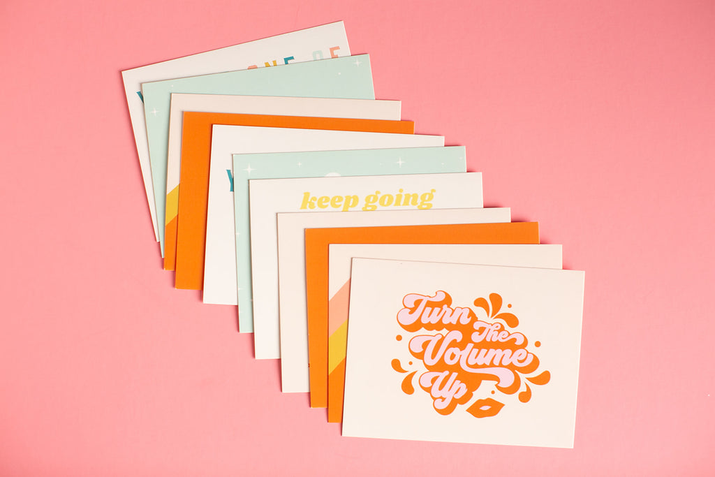 Dame + Heart Power Statement Cards