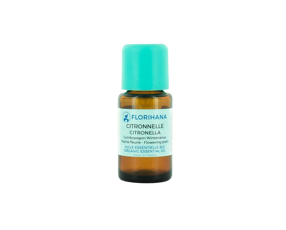 Citronella Essential Oil | Organic | 15g (17.05ml) - Petal and Stem