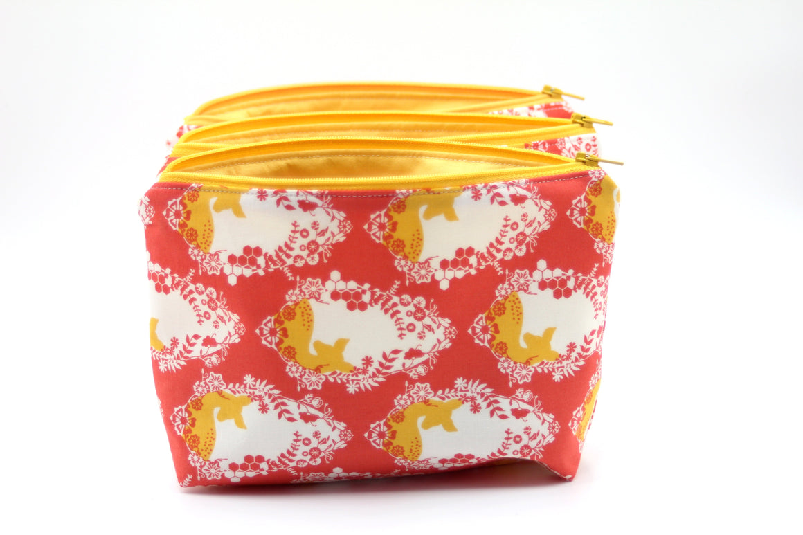 Bambi Essential Oil Bags - Cotton Bag Set perfect for Travel - Petal and Stem