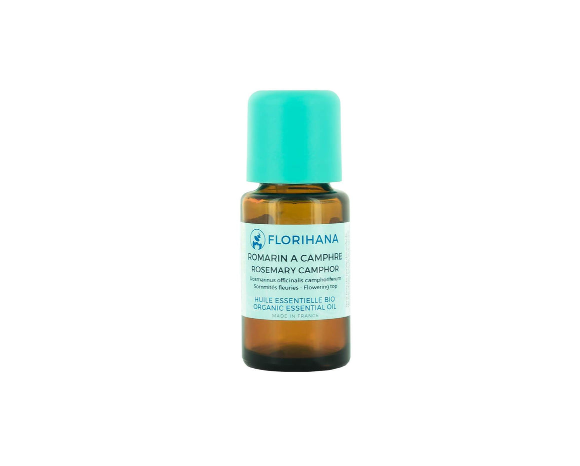 Rosemary Camphor | Organic | 15g (17.34ml) - Petal and Stem
