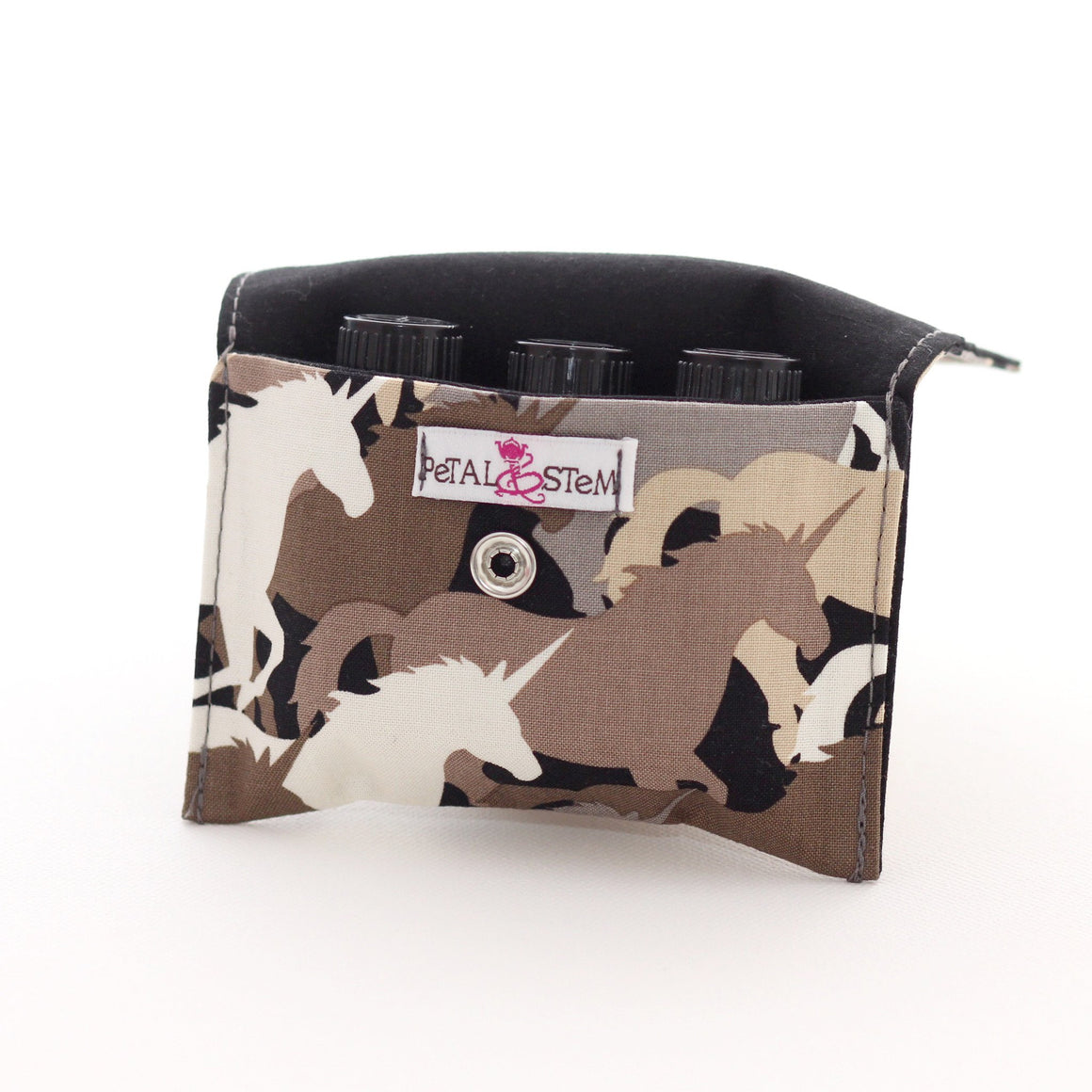 Essential Oil Bag (small) Unicorn Camouflage - Holds your most important oils - Petal and Stem