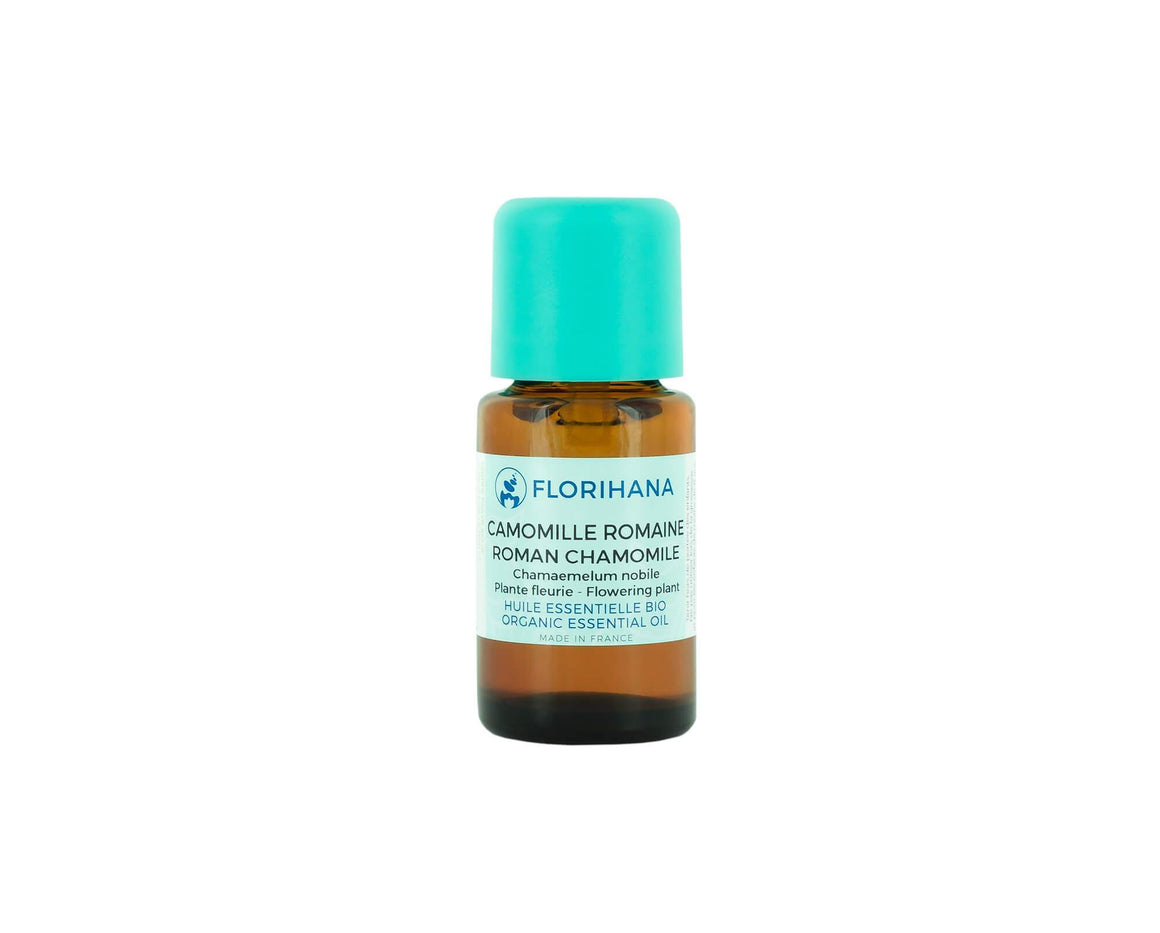 Roman Chamomile Essential Oil | Organic | 2g (2.27ml) - Petal and Stem