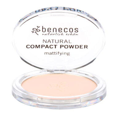 Organic and Vegan Compact Powder - fair - Petal and Stem
