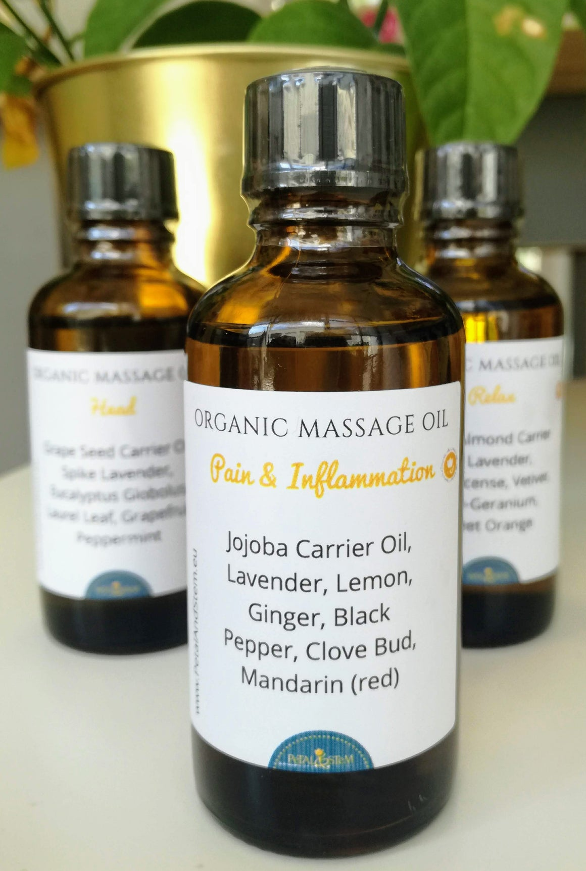 Head and Migraine Massage Oil