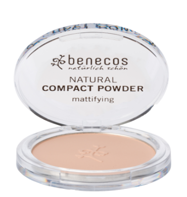 Organic and Vegan Compact Powder - sand - Petal and Stem