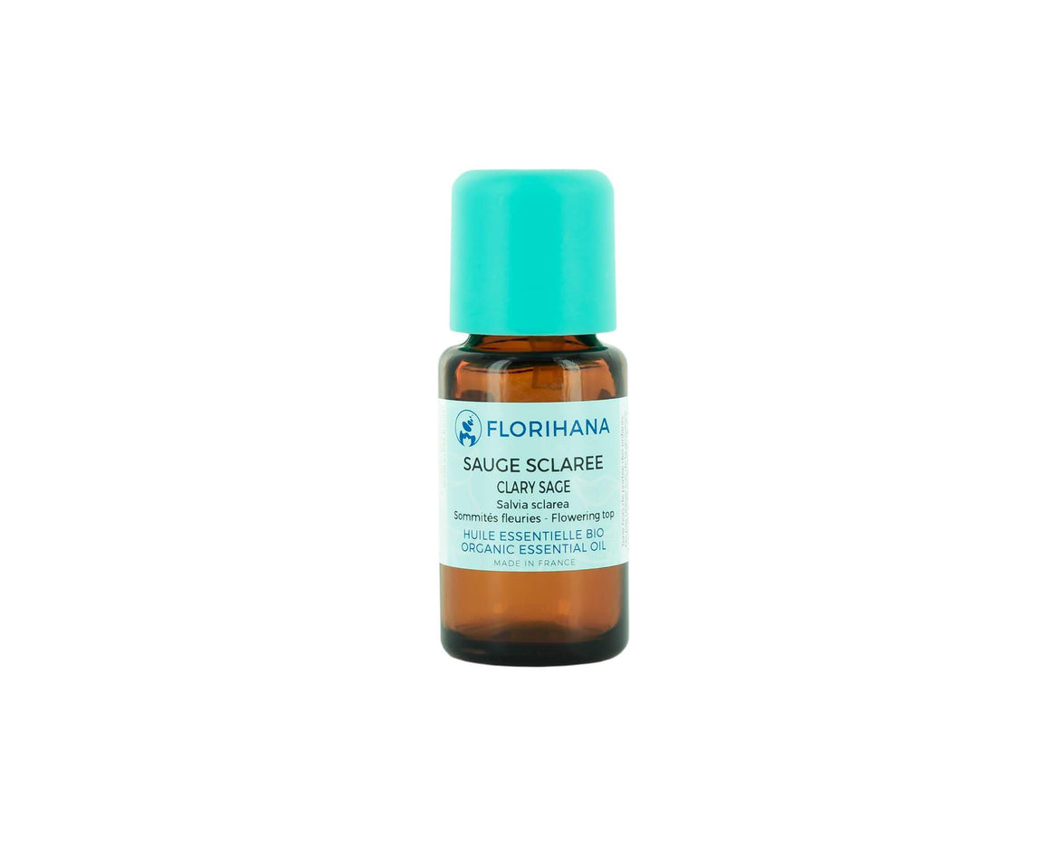 Clary sage Essential Oil | Organic | 15g (16.85ml) - Petal and Stem