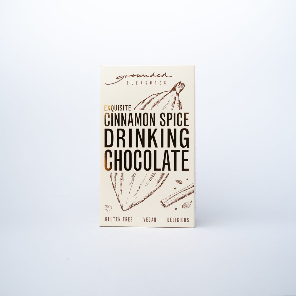Grounded Pleasure Drinking Chocolate Cinnamon Spice
