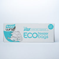 SugarWrap Eco Freezer Bags 100 Medium Bags