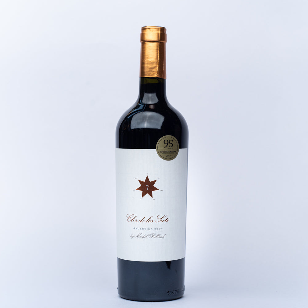 A bottle of Clos de los Siete Malbec 750ml.