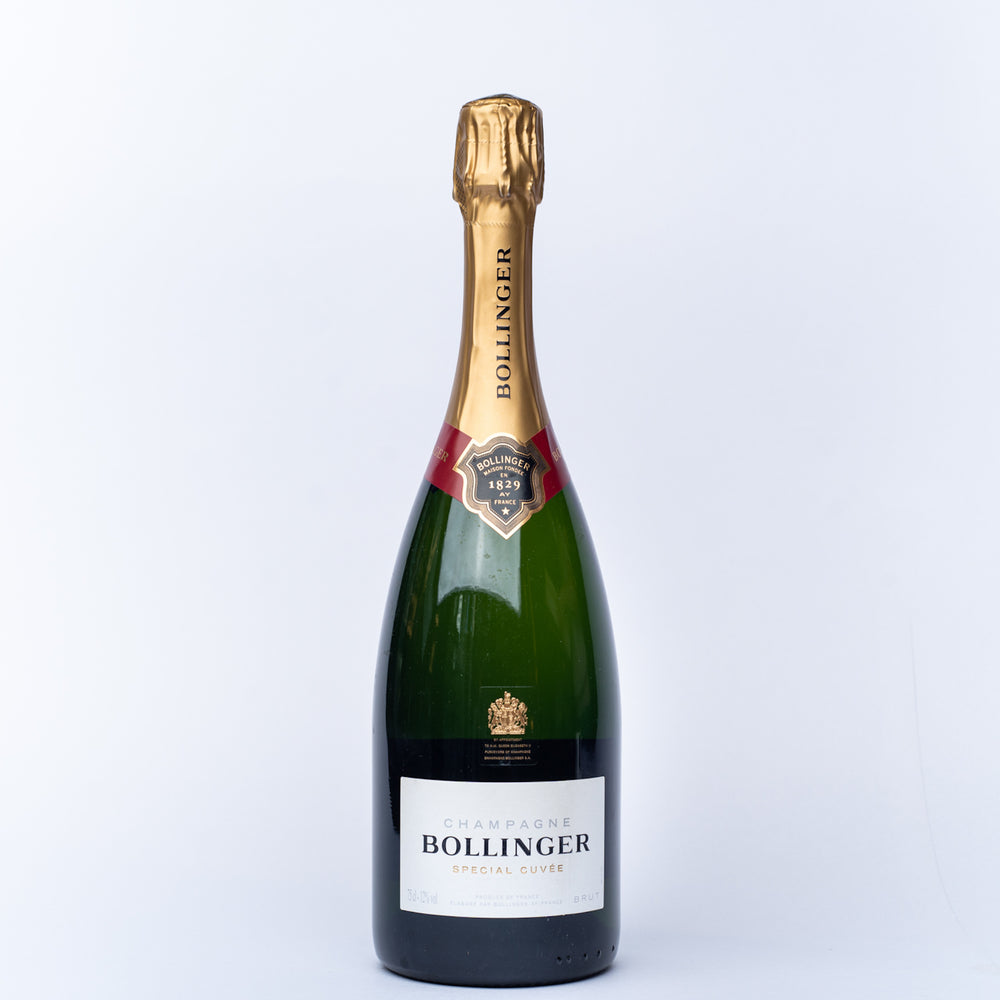 A 750ml bottle of Bollinger Special Cuvee.