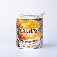 Crumpets by Merna Chocolate 6 Pack (Frozen)