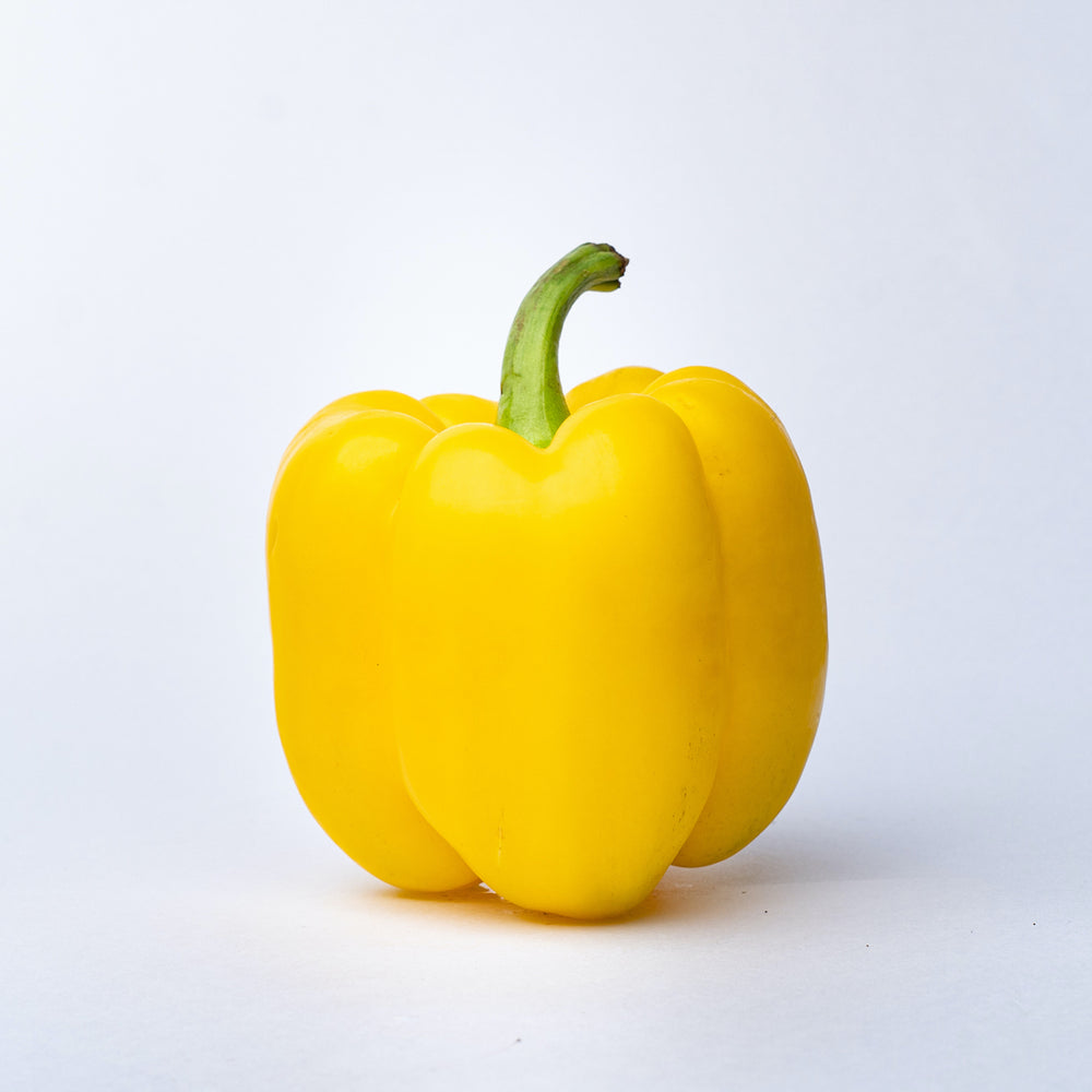 A Yellow Capsicum.