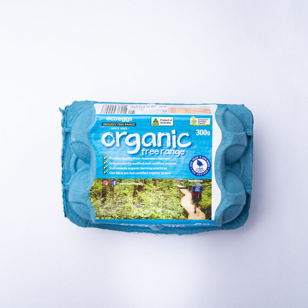 Pace Farm Organic Free Range Eggs (6pc)