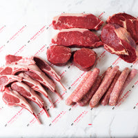 lamb cutlets, sausages, tenderloins, sirloins and rib eyes.
