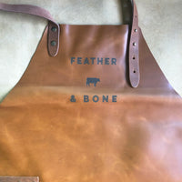 Feather & Bone Signature Leather Apron