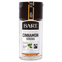 Bart Cinnamon Sticks (Fairtrade) 10g