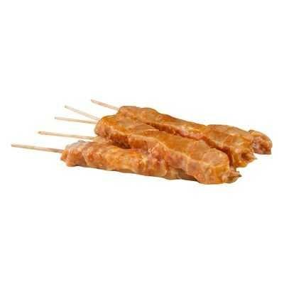 Chicken Satay Skewers (4 pieces)-Feather & Bone