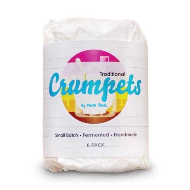Crumpets by Merna Traditional Crumpets 6 Pack (Frozen)