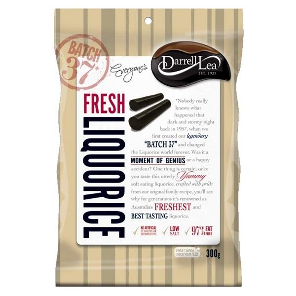 Darrell Lea Fresh Liquorice 300g-Feather & Bone