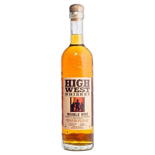High West Double Rye Whiskey 750ml-Feather & Bone