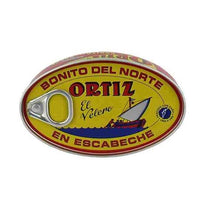 Ortiz White Tuna in Escabeche Sauce 112g-Feather & Bone (2405523685434)