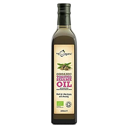 Mr. Organic Toasted Sesame Oil 250ml