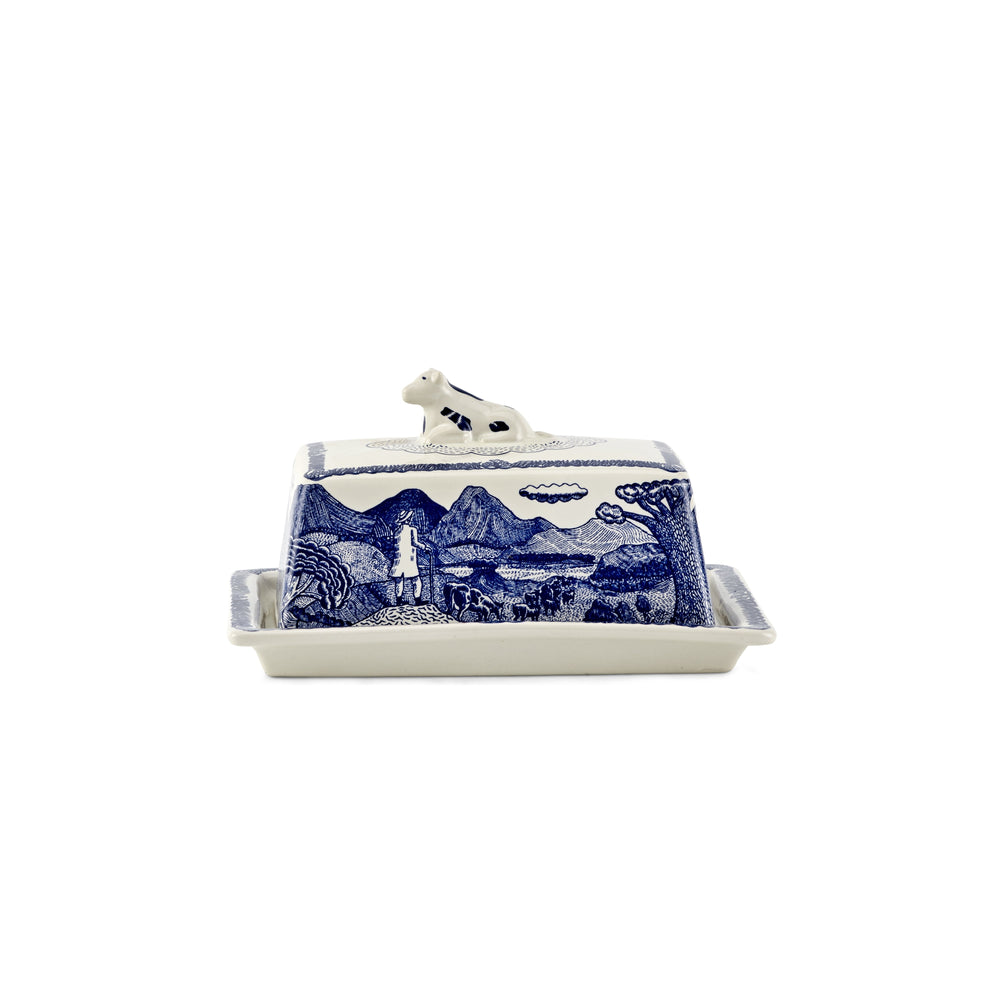 The Fine Cheese Co. John Broadley Butter Dish-Feather & Bone (2405526765626)