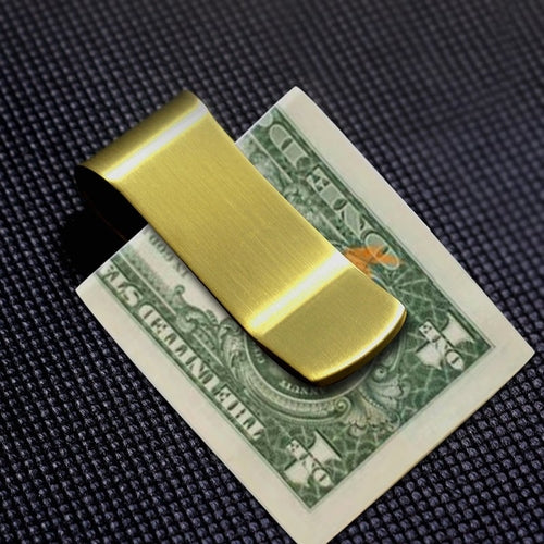 Brass Money Clip - Gifts On The Tree