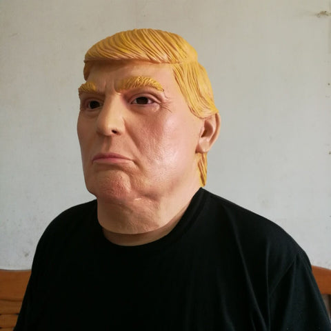 Donald Trump Overhead Party Mask - Gifts On The Tree