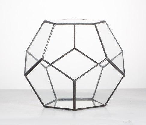 Geometric Flower Glass Pot - Gifts On The Tree