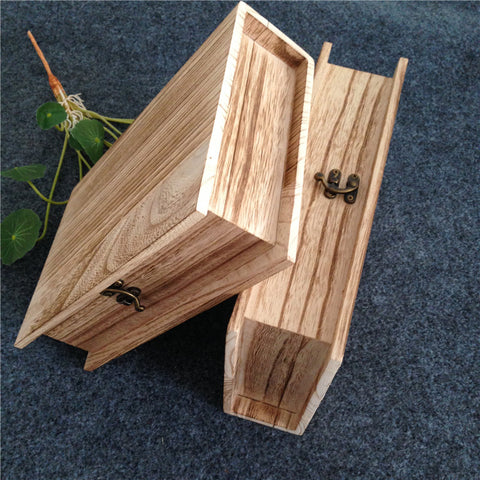 Book Shape Wooden Gift Box - Gifts On The Tree